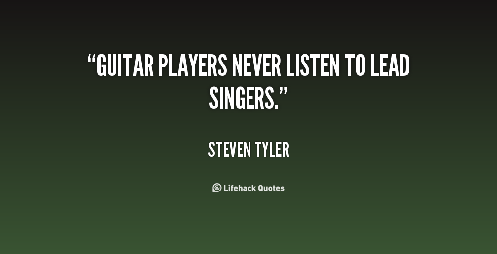 Hand Picked Text Image Quotes: Hand Picked 21 Fashionable Quotes About Guitar Players Pic