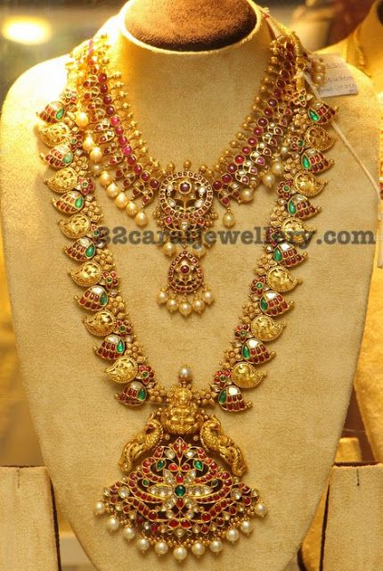 South Indian Gold Jewellery Designs Indian gold jewelry Gold
