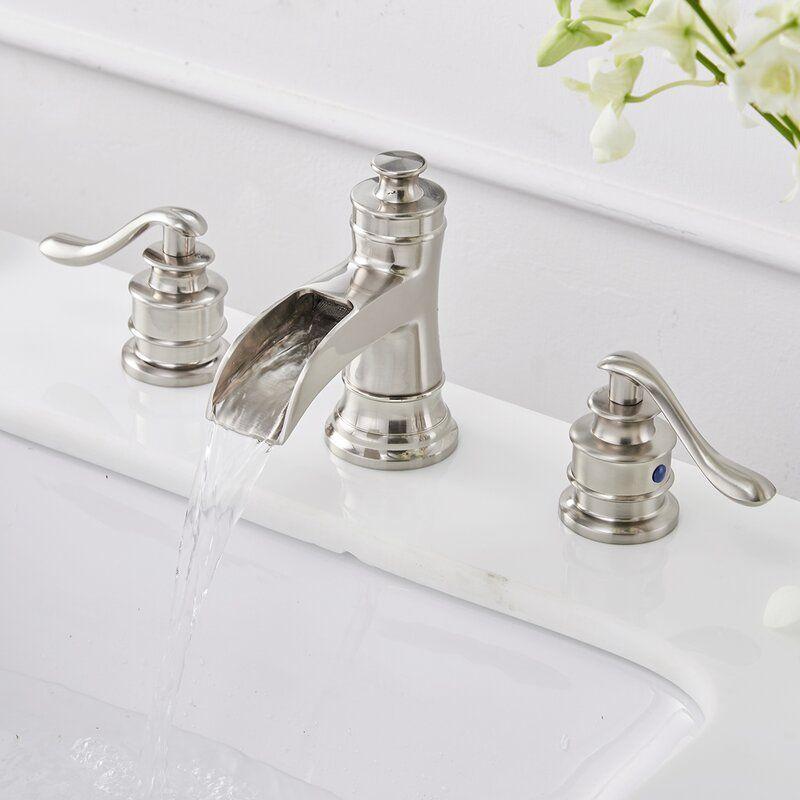 Waterfall Widespread Bathroom Faucet, Wayfair Bathroom Faucets
