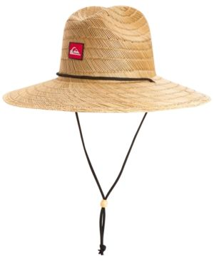 af98d86853f Quiksilver Men s Pierside Lifeguard Hat - Tan Beige L XL