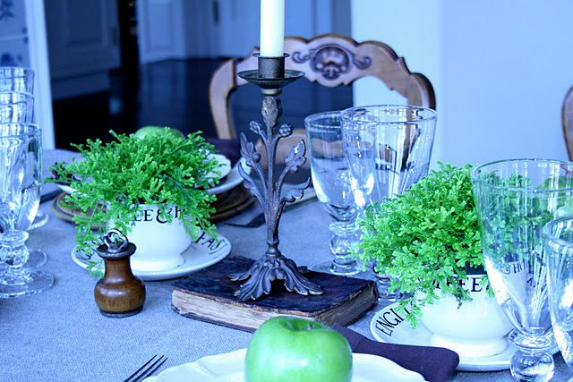 french dining decor