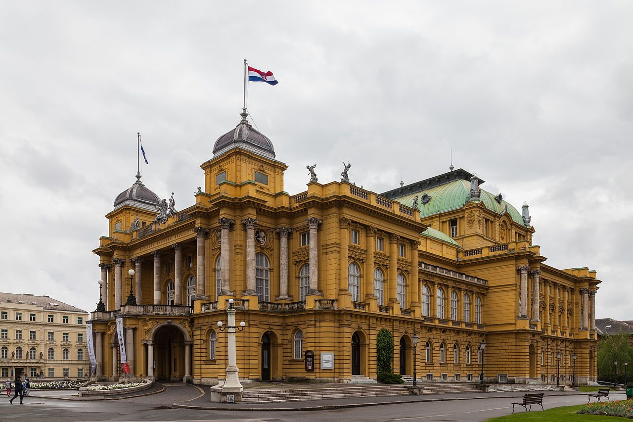 Zagreb Zagreb National Theatre Croatian