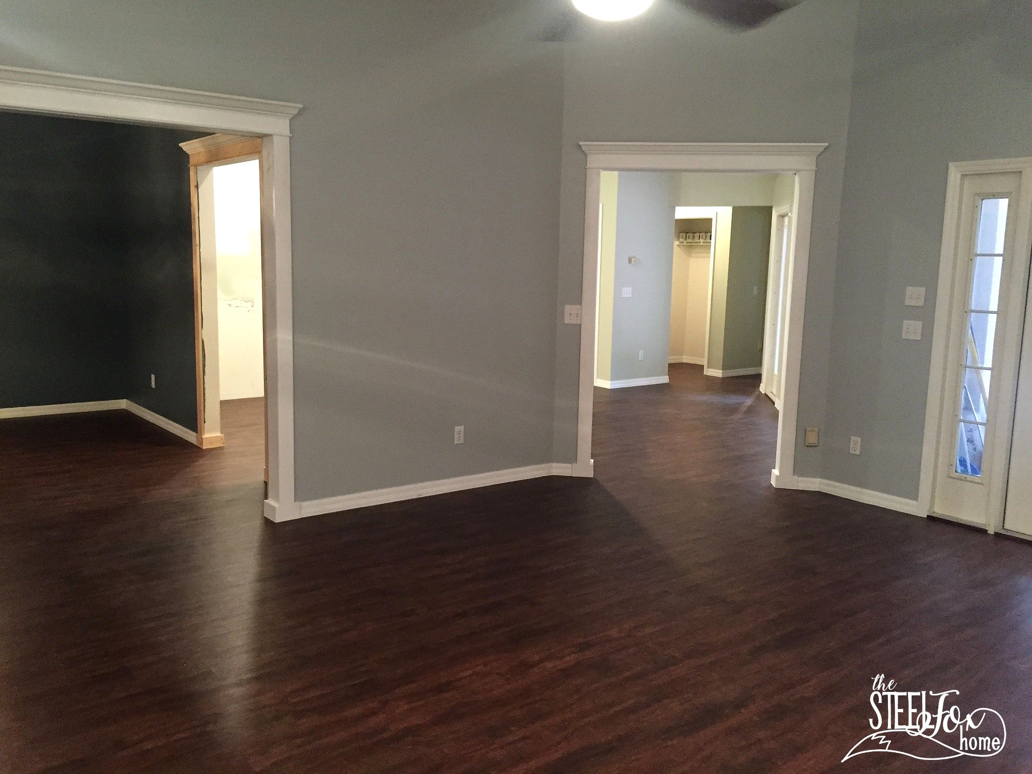 Luxury Vinyl Plank Wood Flooring whole house makeover. Why