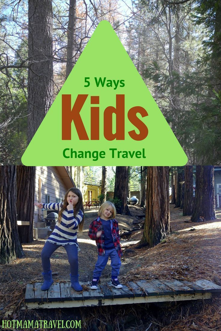 Having kids changes everything, especially how you travel. Click to see 5 ways kids change travel.