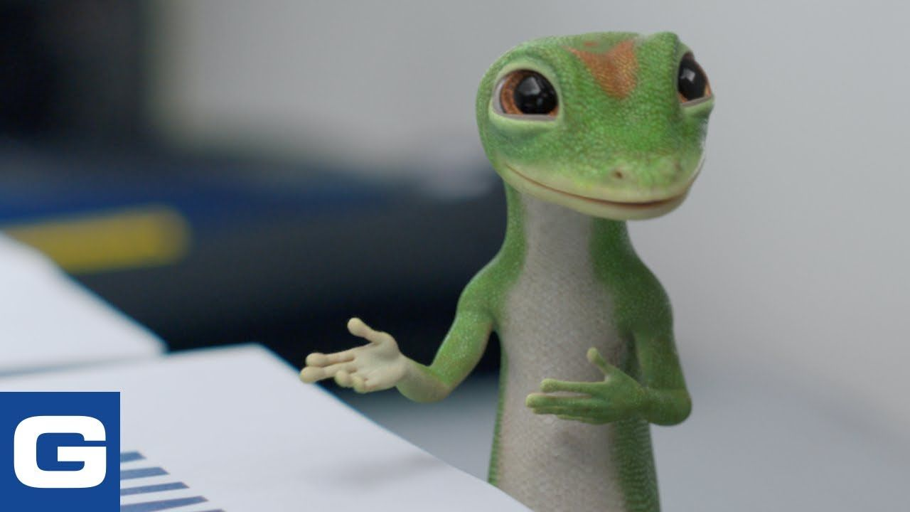 The Gecko Makes Copies Geico Insurance Youtube In 2020 Tv