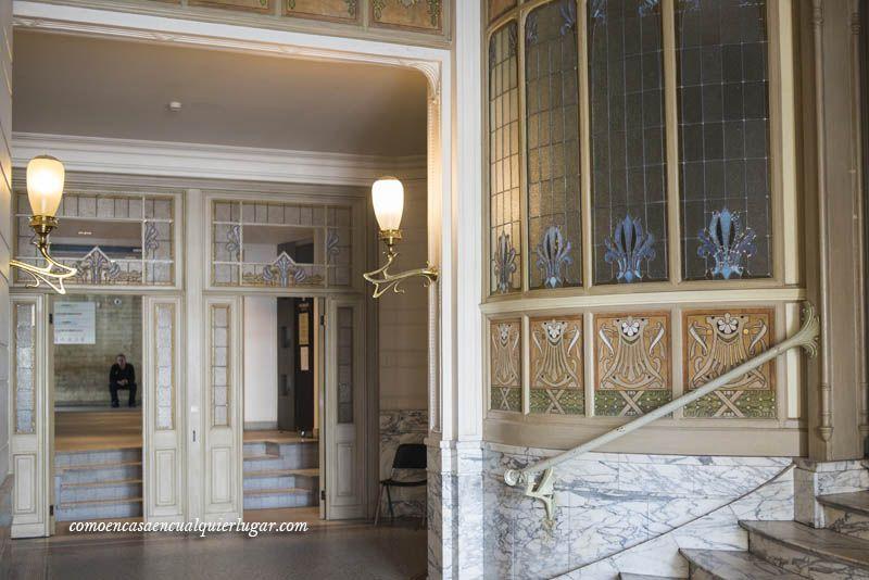 Ruta Art Nouveau en Bruselas