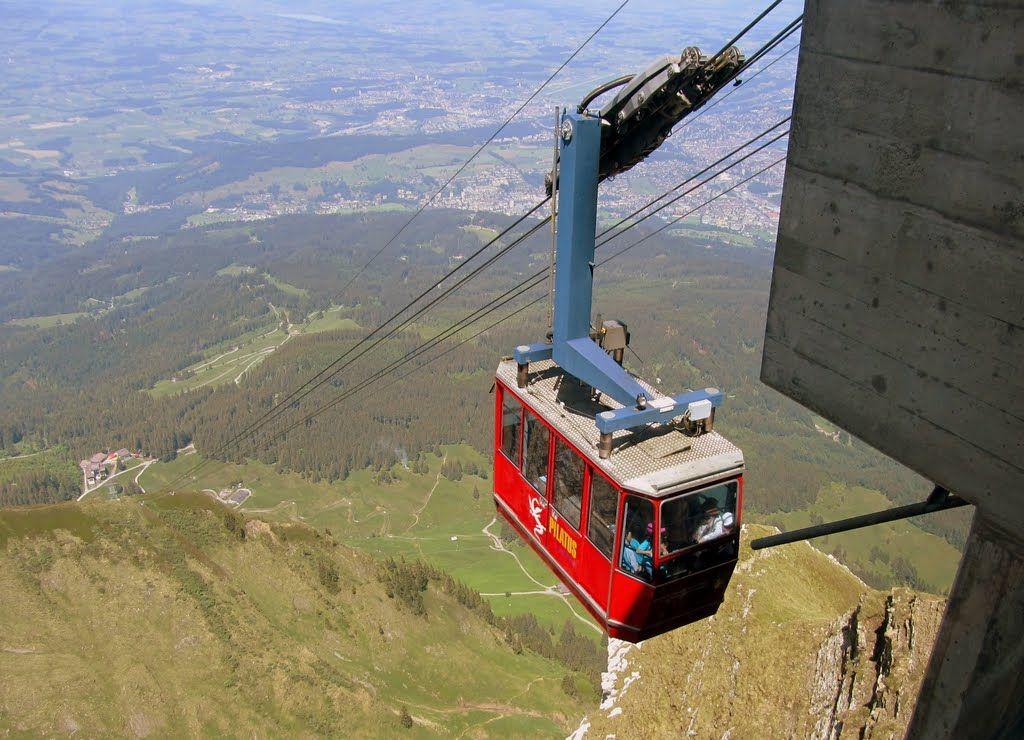 Monte Pilatus, Funivia FräkmünteggPilatus Turismo, Suiza