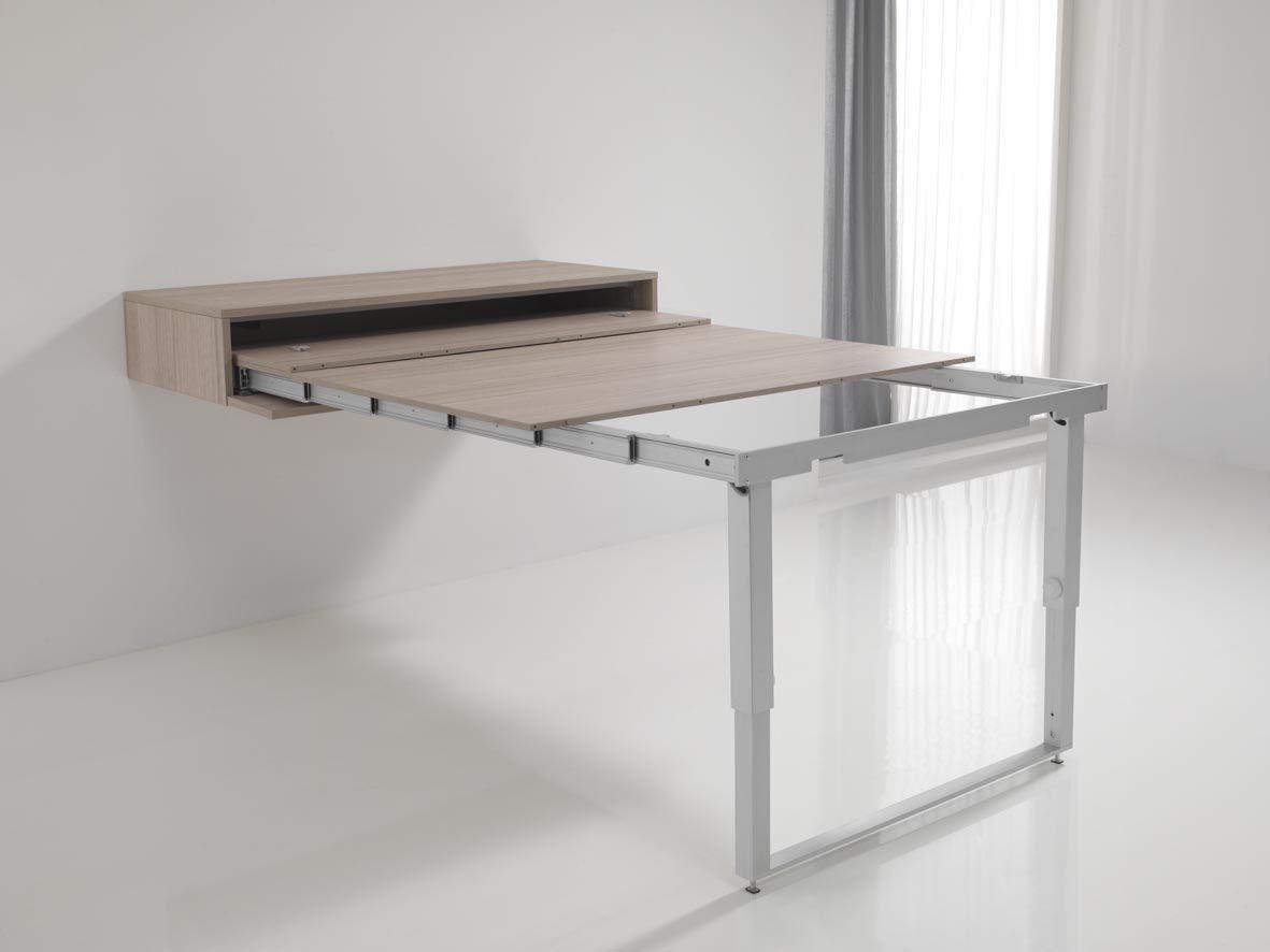 Fabriquer Une Table Escamotable tavolo scomparsa modello magnolia estraibile a muro