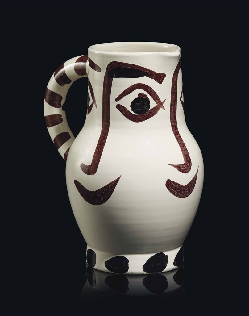 Pablo Picasso Ceramics   Quatre visages (A.R. 436)