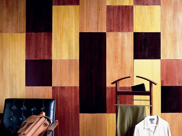 how to add wood paneling to your walls with balsa wood - Wood Paneling For Walls
