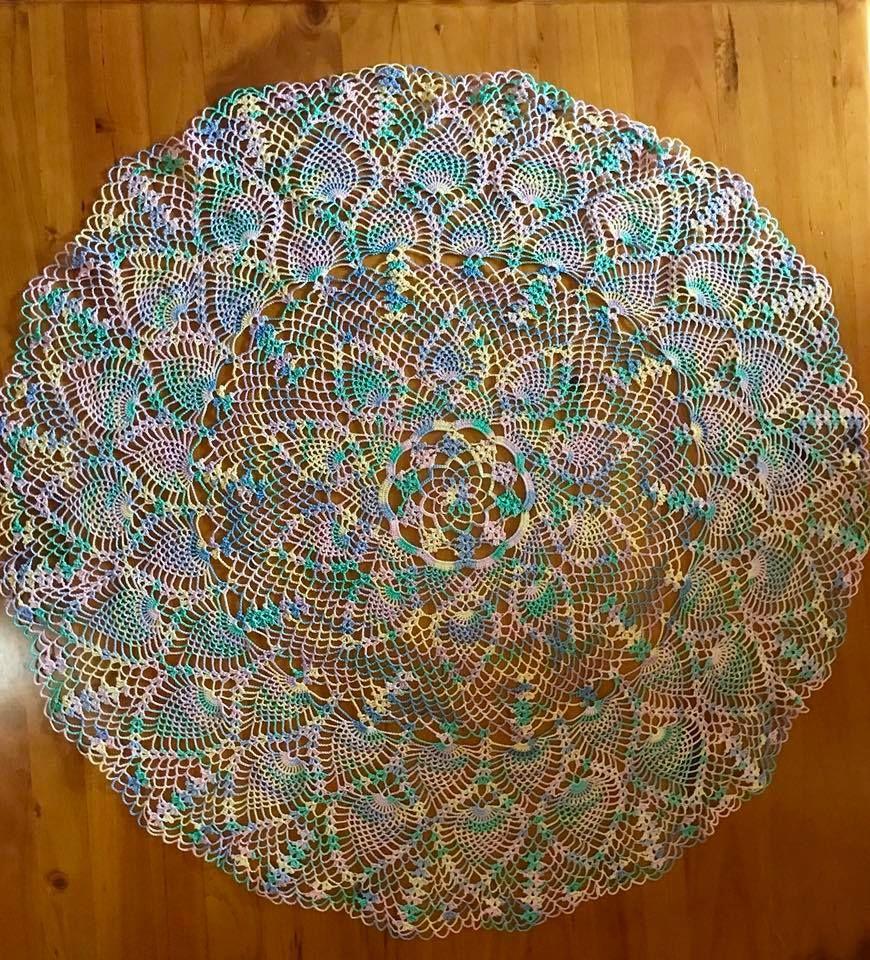 Peacock Tablecloth | Para el hogar, Ideas para y Hogar