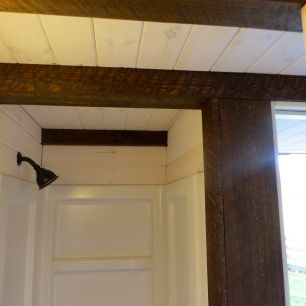 Beams To Give The Shower A Barn Like Look In The Robins