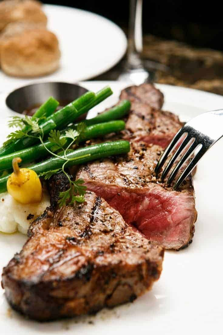 Herbmustard crusted sirloin steak recipe cooking the