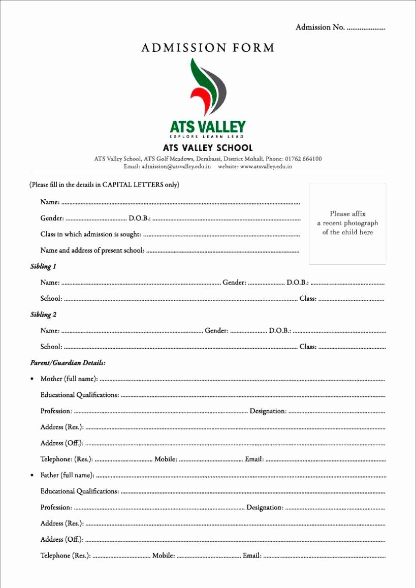 New Customer form Template Word New format Application for