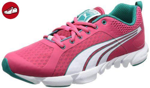 Puma Carson Mesh WN's, Damen Laufschuhe, Schwarz (Black-Pink Glo 03), 36 EU (3.5 UK)