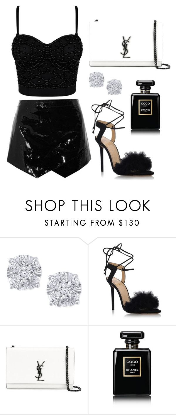 """Untitled #356"" by alexis1501 on Polyvore featuring Effy Jewelry, Charlotte Olympia, Yves Saint Laurent and Chanel"