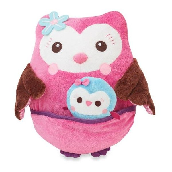 Summer Infant Who Loves You Owl Plush Toy - buybuy BABY ❤ liked on Polyvore