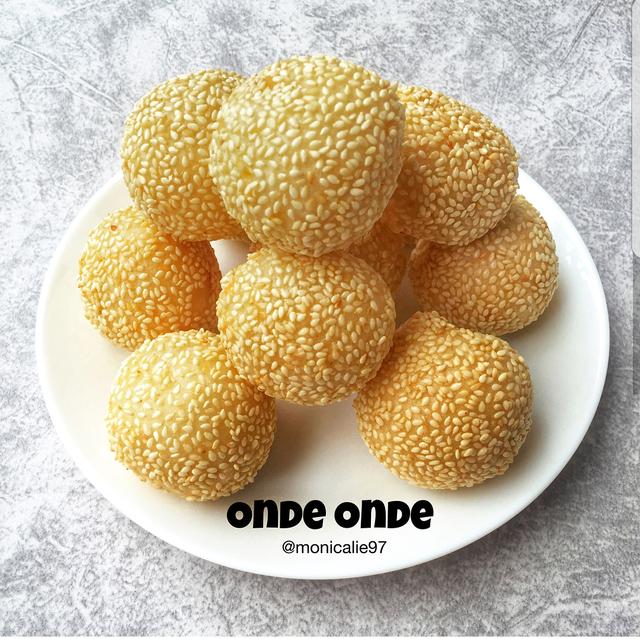 Onde Onde Wijen Kacang Hijau By Monicalie97 Resep Aneka Kue Enak In 2020 Aesthetic Food Asian Desserts Food