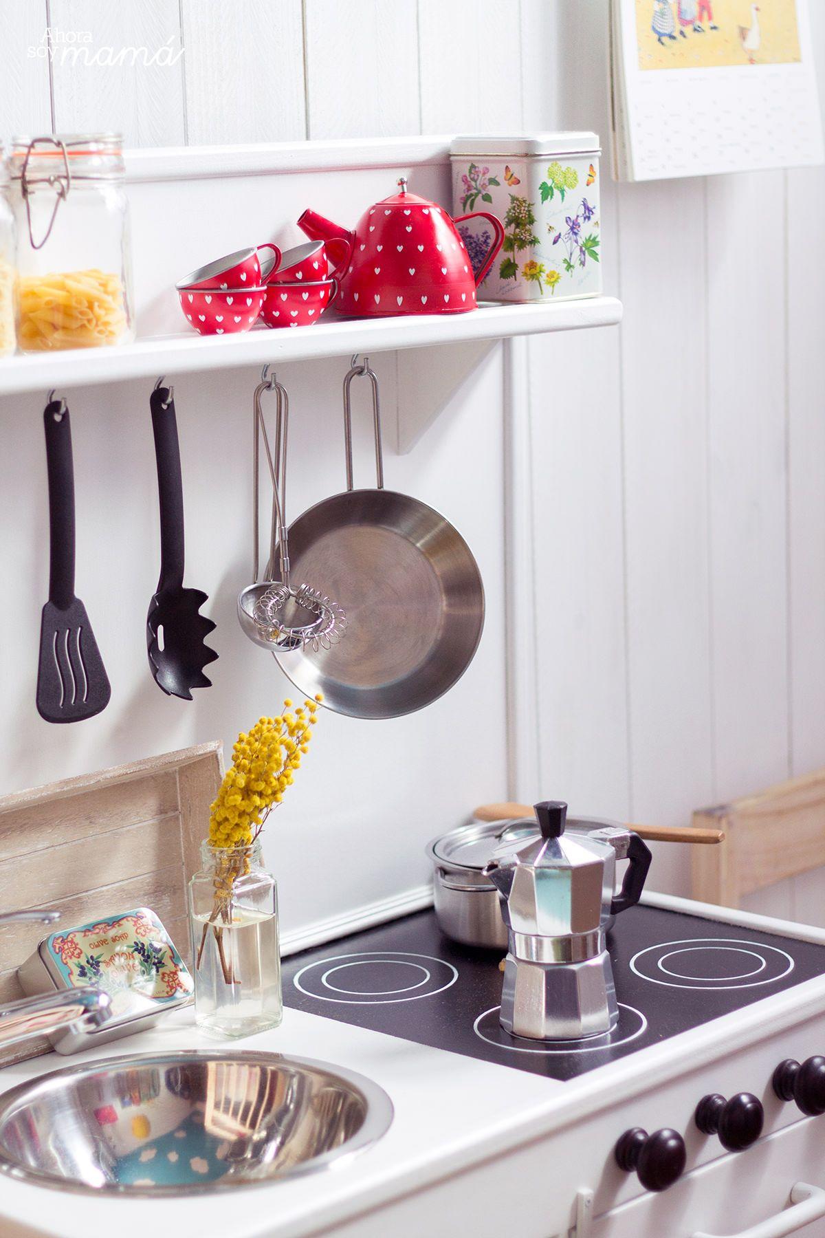 Cocinita De Juguete De Ahora Soy Mam Cocinitas Pinterest  # Muebles Roles Mesillas