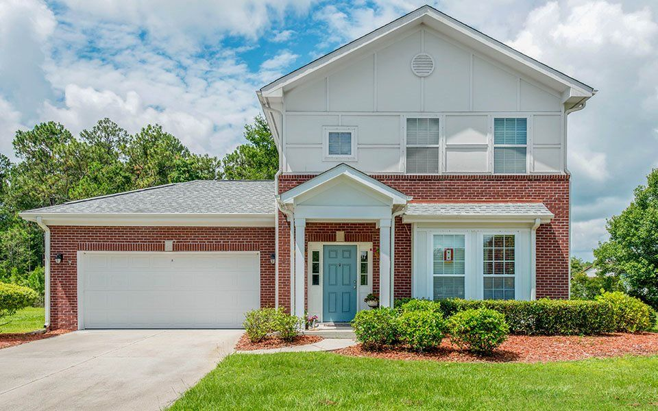 The Eagle Estates neighborhood features two, three and