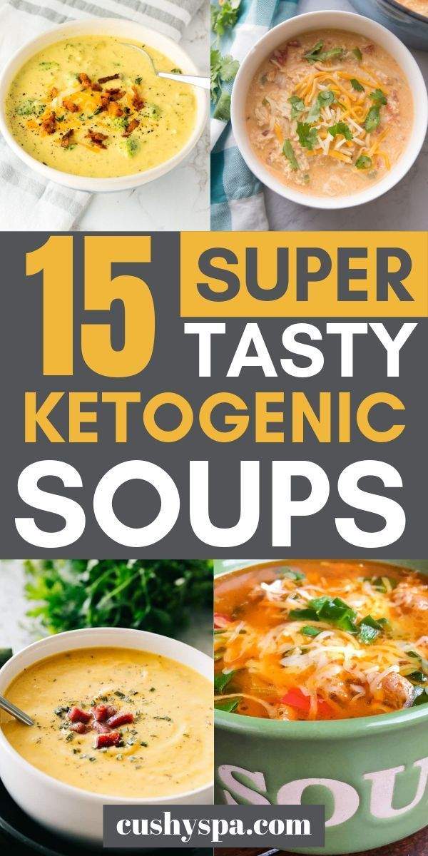 15 Köstliche Ketosuppe Ideen für gemütliche Tage #ketodietforbeginners