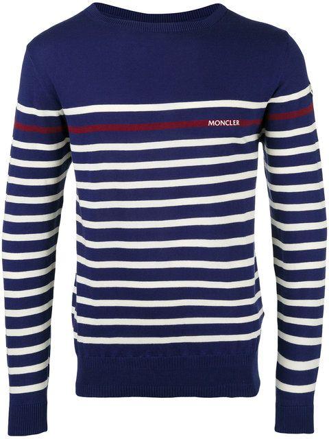 ef36136b6 MONCLER striped long sleeve jumper.  moncler  cloth  jumper ...