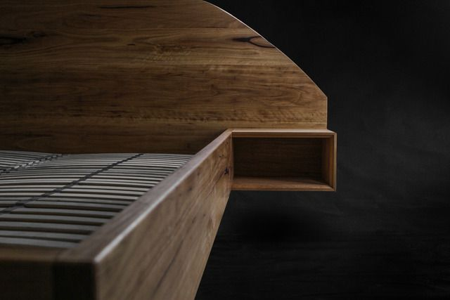 Blackbutt Timber Bed By Mākimāki Furniture Works   Bed, Recycled, Timber,  Blackbutt,