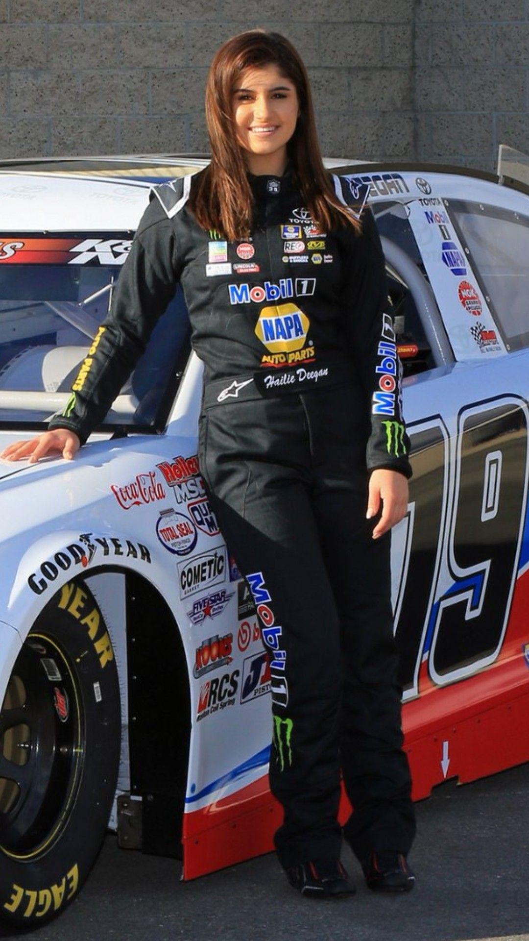 Hallie Deegan Female Race Car Driver Female Racers Racing Girl