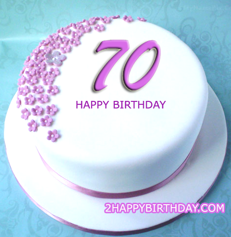 Terrific 70Th Birthday Cake With Name 70Th Birthday Cake 70Th Birthday Funny Birthday Cards Online Kookostrdamsfinfo