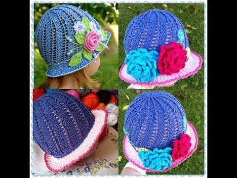 Crochet Cloche Hats The Best Free Collection | Kinder häkeln ...