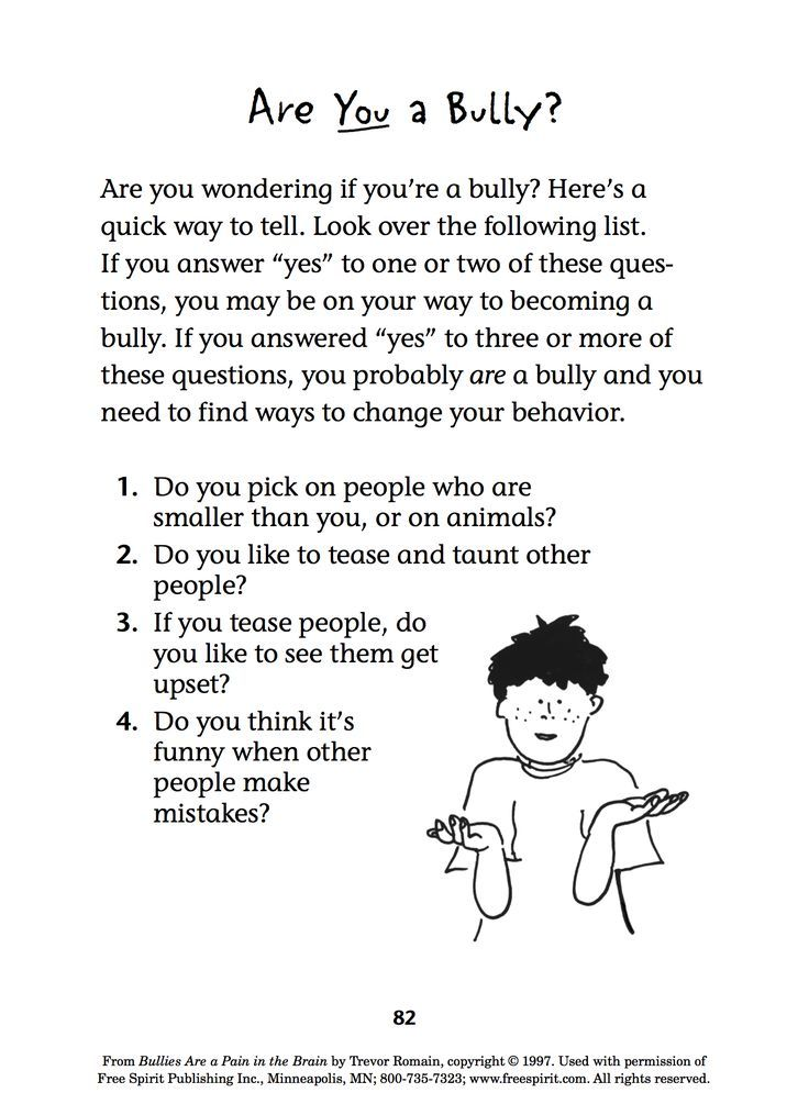 Free Printable Anti Bullying Worksheets