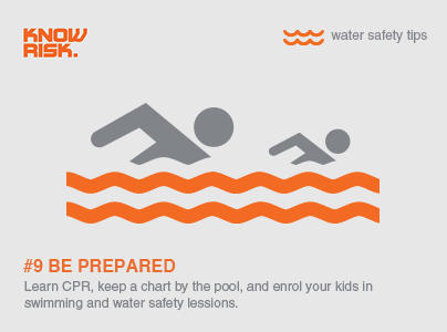 Water Safety Tip 9 Be Prepared By Learning Cpr Keeping A Resuscitation Chart By The Pool And Enrolling Your Ki Water Safety Lessons Water Safety Learn Cpr