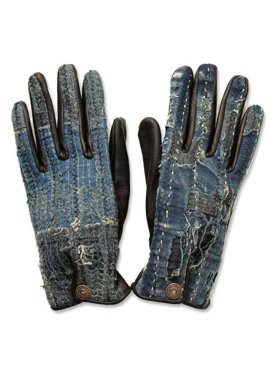 Japanese leather motorcycle gloves - Fell Head Over Heels For The Japanese Brand Kapital This Gloves Demonstrate Both Their Love