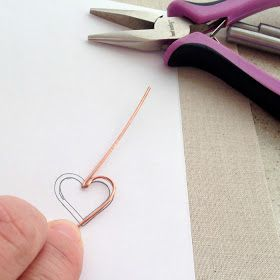 Photo of How to Make Wire Heart Jewelry