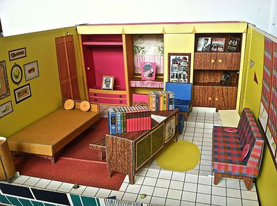 Nice 1962 Vintage Barbie Dream House With Furniture | EBay We Played With This  Until It Fell