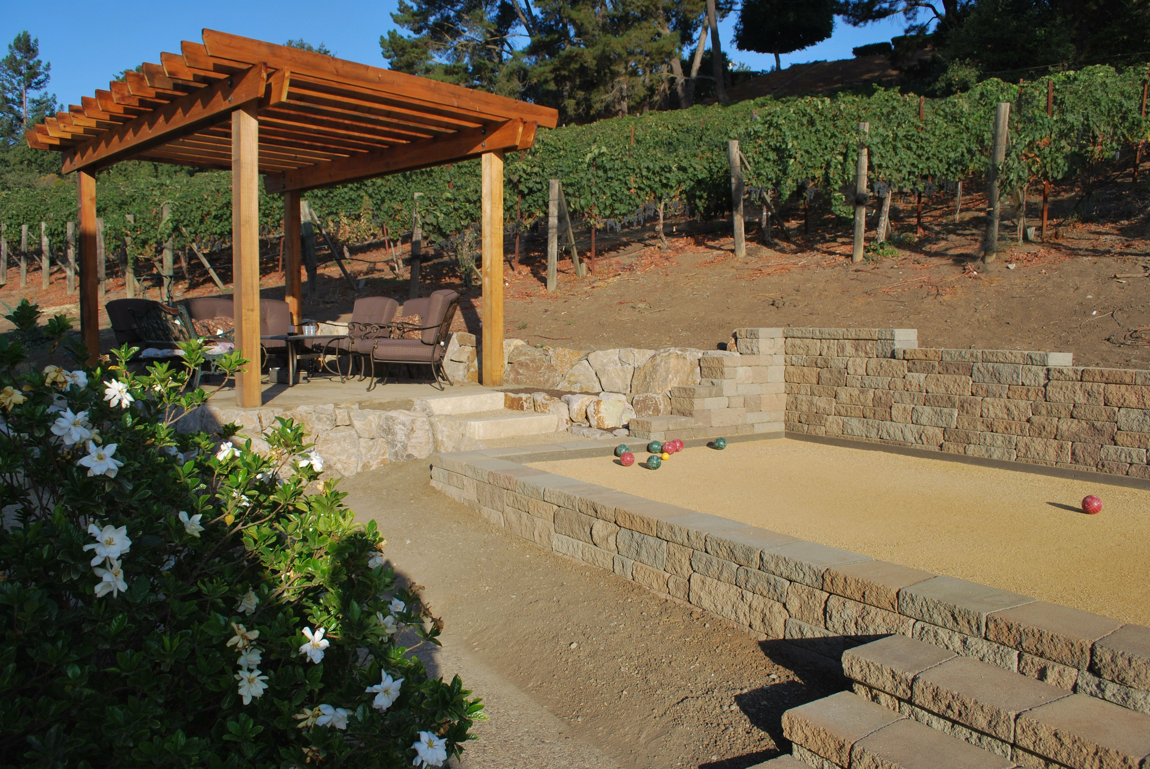bocce ball court backyard - Google Search   Bocce court ...
