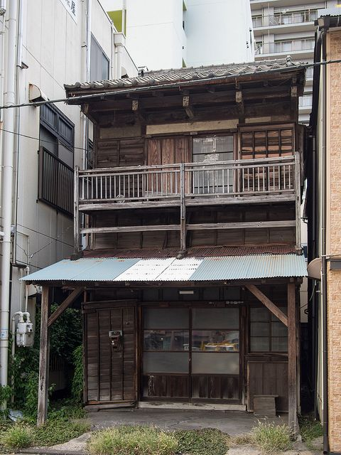 Old wooden japanese house architecture japanische architektur japan architektur - Traditionelle japanische architektur ...