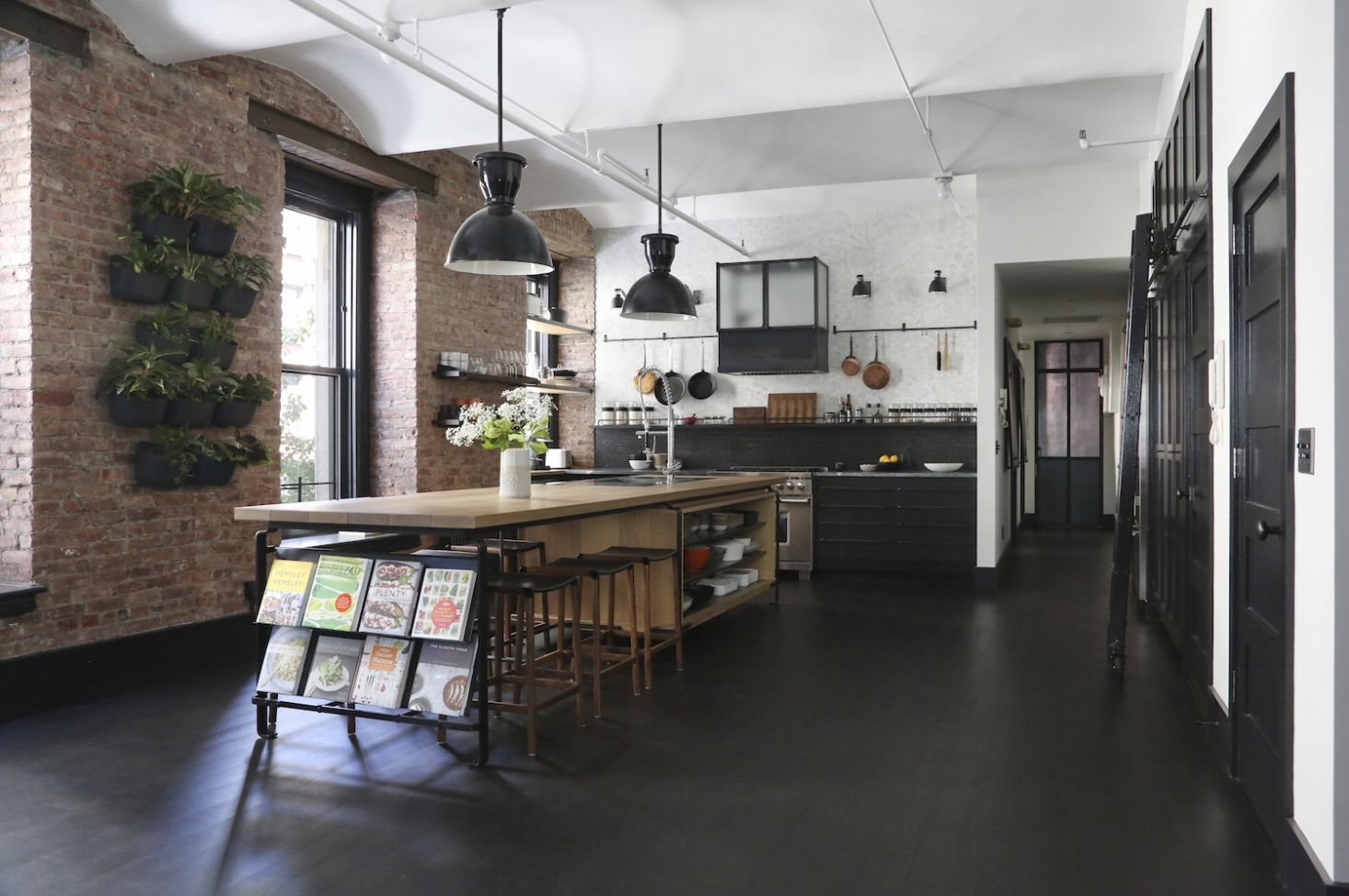 A Rugged Rustic Nyc Loft By Matt Bear Of Union Studio Remodelista Loft Style Homes Loft Kitchen Industrial Kitchen Design