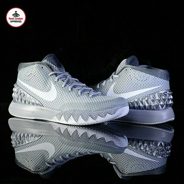 online store e8dbc bae1f The Foot Locker Exclusive  Nike Kyrie 1  Wolf Grey  drops in stores and
