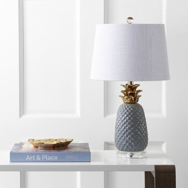 Finch pineapple ceramic 23 table lamp youll love