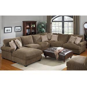 nebraska furniture mart – emerald home baxter 4 piece sectional