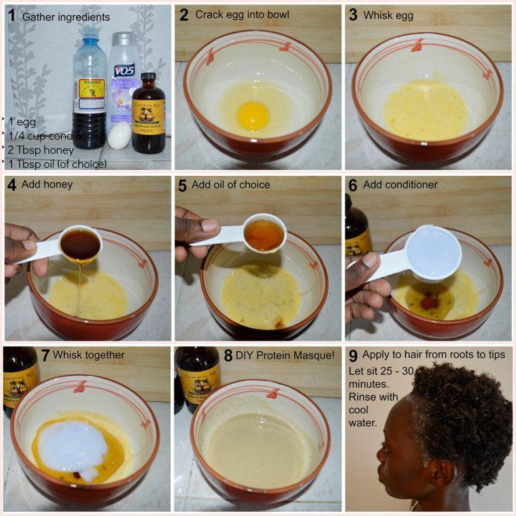 Diy Protein Hair Masque Hair Protein Hair Masque Natural Hair Diy
