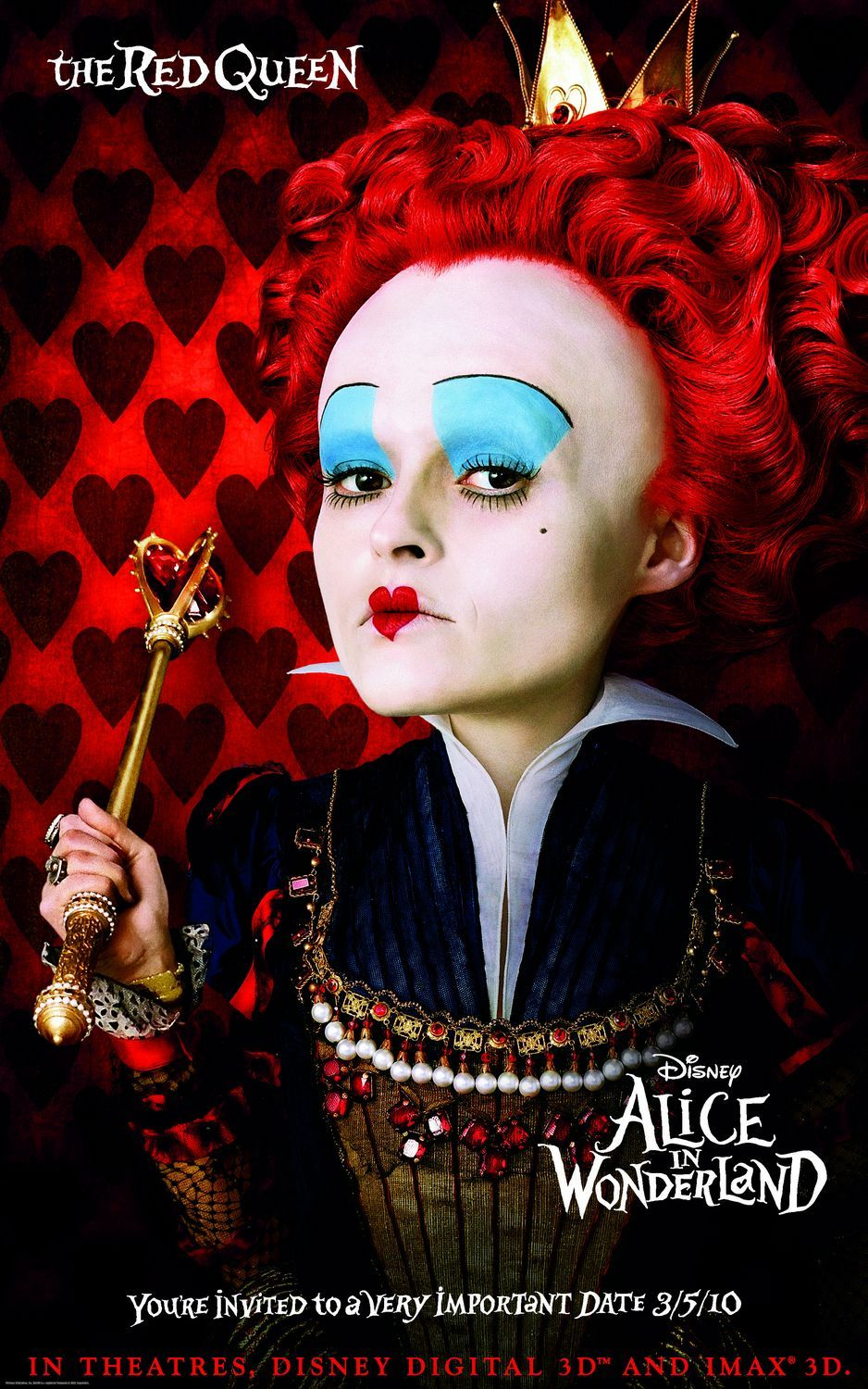 Alice In Wonderland Extra Large Movie Poster Image Internet Movie Poster Alice In Wonderland Makeup Film Alice In Wonderland Alice In Wonderland Characters