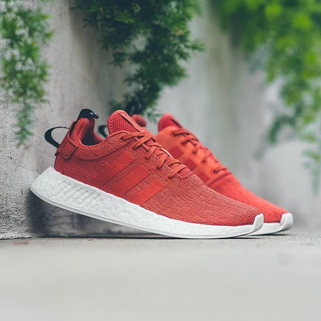 promo code eb355 45b4f adidas Originals latest drop is dressed in a orangish-red colorway for its  latest release. Dubbed future harbour, the tone covers the silhouettes