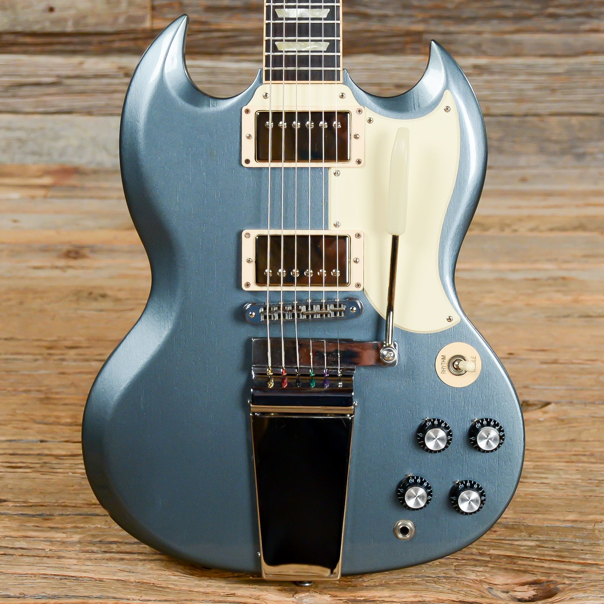 gibson jeff tweedy sg pelham blue 2012 s675 guitars. Black Bedroom Furniture Sets. Home Design Ideas