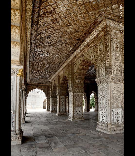 India - Delhi - Red Fort - Diwan-i-Khas - 2 | DIWAN-i-KHAS