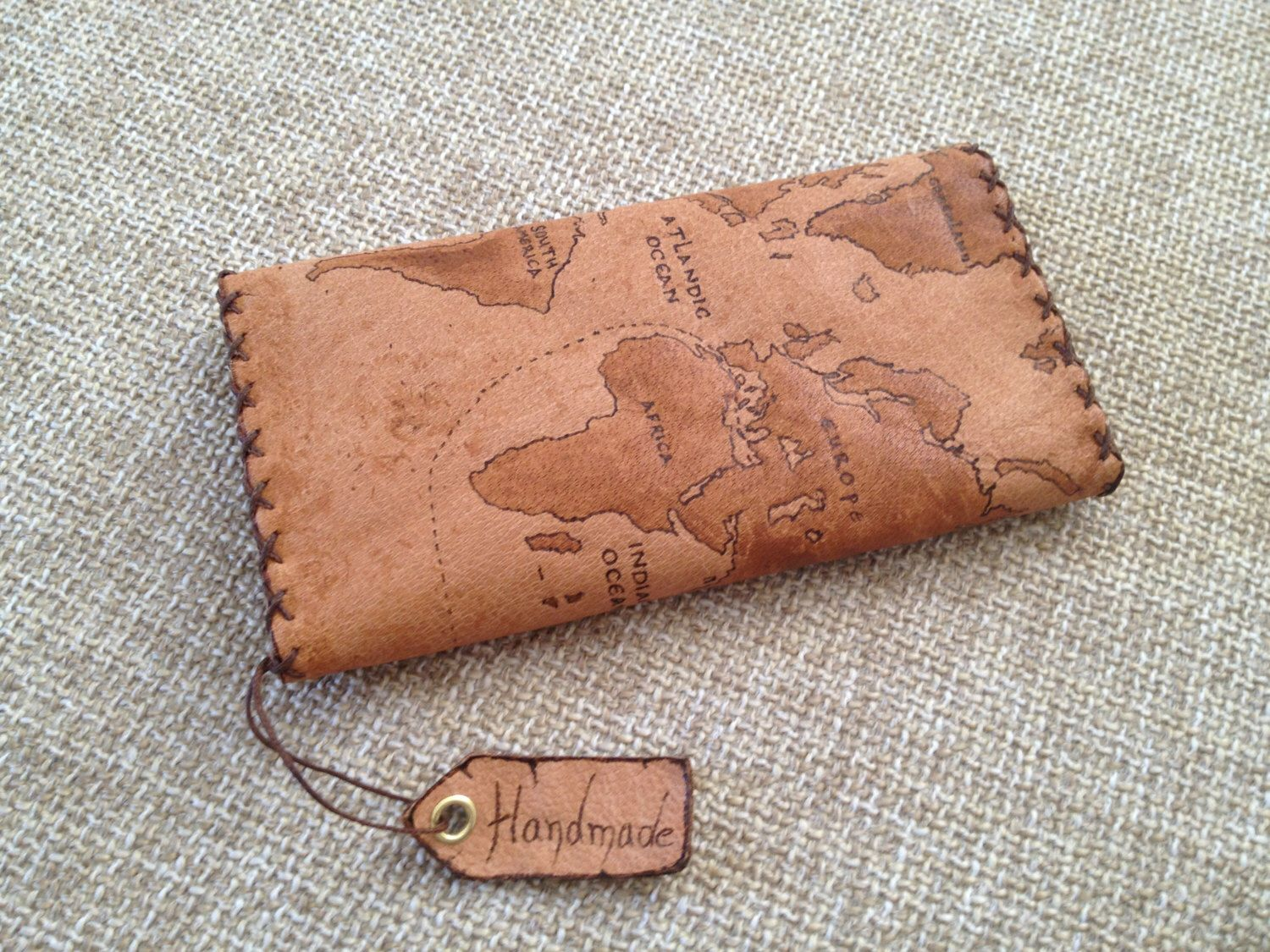 World map leather tobacco pouch pipe pouch wallet case pyrography world map leather tobacco pouch pipe pouch wallet case pyrography leather portatabacco gumiabroncs Images