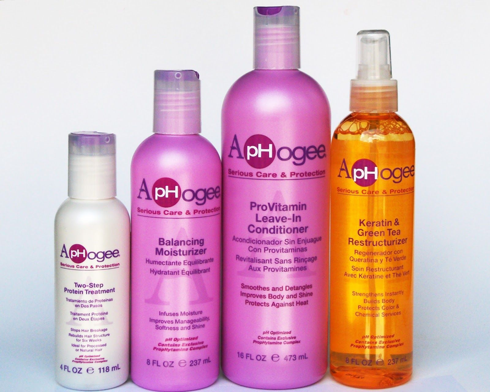 ApHogee cruelltyfree hair care for damaged hair, review
