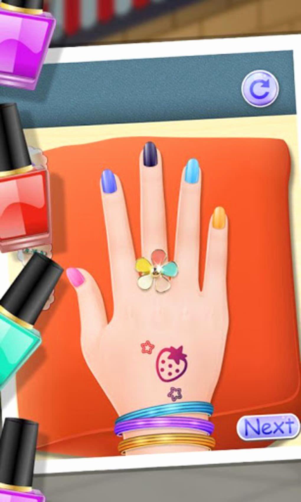 Hello Kitty Nail Salon Game : hello, kitty, salon, Hello, Kitty, Salon, Beautiful, Makeover, Girls, Games, Android, Download, Games,, Nails,, Nails