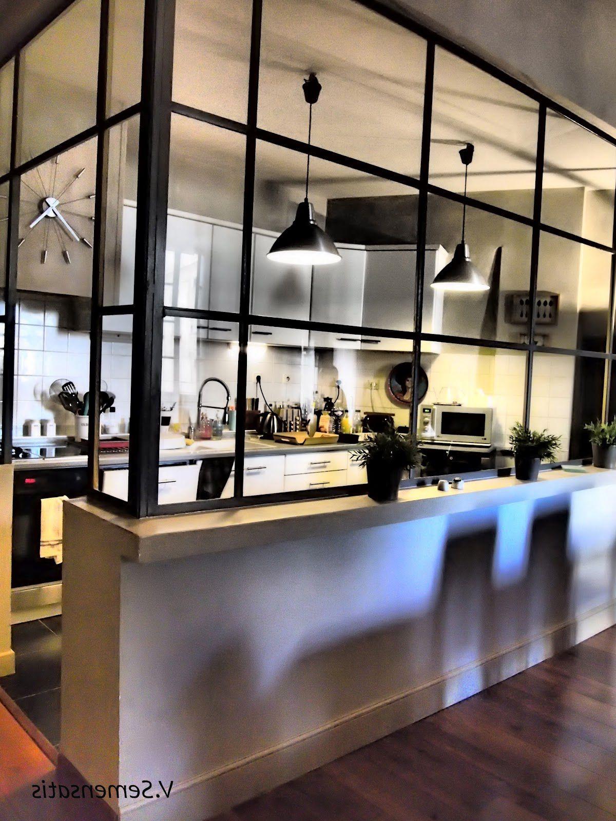 Cuisine avec verri re mieszkanie - Cuisine avec verriere atelier ...